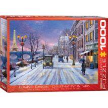 Christmas Eve in Paris - Karácsony este Párizsban - Eurographics 6000-0785 - 1000 db-os puzzle