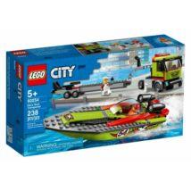 LEGO City Great Vehicles - Versenycsónak szállító 60254