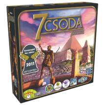 7 Csoda - 7 Wonders - magyar kiadás - családi stratégiai társasjáték 10 éves kortól - Asmodee