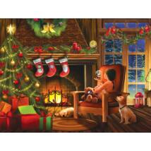 Dreaming of Christmas - Tom Wood - SunsOut 28816 - 1000 db-os puzzle