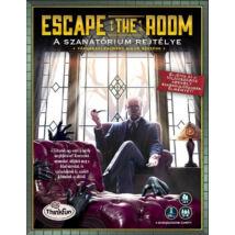 Escape the Room - logikai társasjáték 10 éves kortól - A szanatórium rejtélye - Egyszerbolt Társasjáték Webáruház