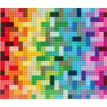 LEGO Rainbow Bricks Puzzle - 1000 db-os puzzle