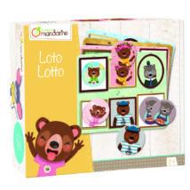 Lottó Állatcsalád - Avenue Mandarine - játék 2 éves kortól - Egyszerbolt Társasjáték