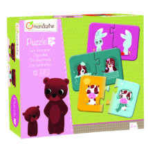 Ellentétek párosító puzzle - memóriajáték - Avenue Mandarine - játék 2 éves kortól - Egyszerbolt Társasjáték