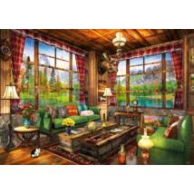 Mount Cabin View - Bluebird 70336-P - 1000 db-os puzzle