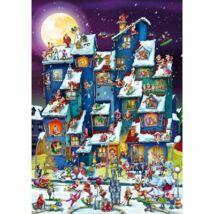 Karácsonyi felfordulás - Dtoys 70869 - 1000 db-os puzzle