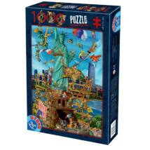 New York - Dtoys 74706 - 1000 db-os puzzle