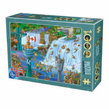 Niagara vízesés - Dtoys 75932 - 1000 db-os puzzle