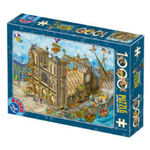 Notre Dame - Dtoys 77752 - 1000 db-os puzzle