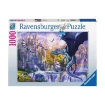 Ravensburger 15252 - Sárkányvár - 1000 db-os puzzle