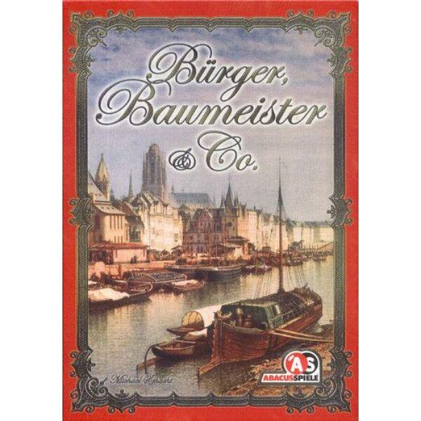 Bürger, Baumeister & Co. - Egyszerbolt Társasjáték Webáruház
