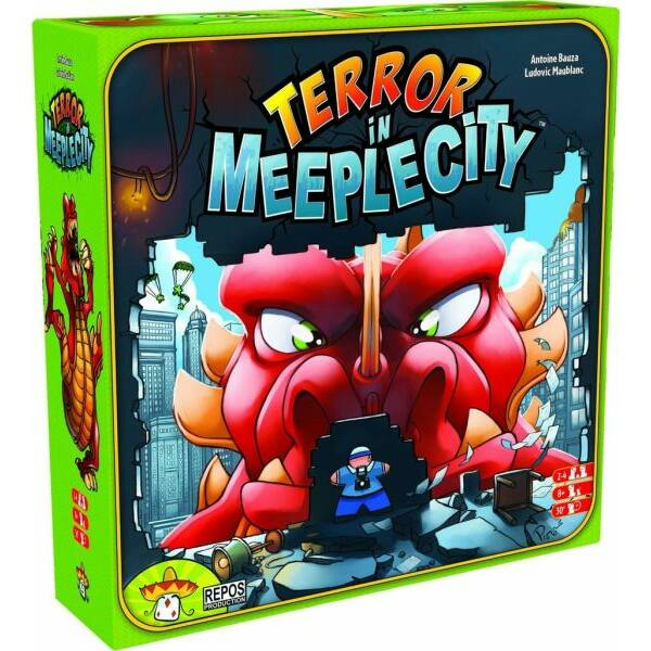 Terror in Meeple City (Rampage) - Egyszerbolt Társasjáték Webáruház