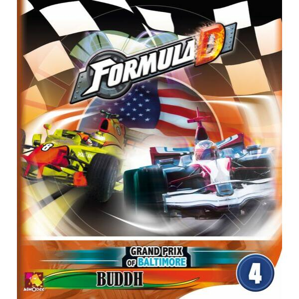 Formula D: új pályák 4 - Baltimore és Buddh kiegészítő - Egyszerbolt Társasjáték Webáruház