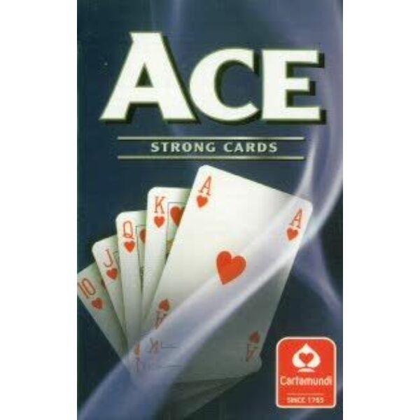 ACE szimpla bridge kártya, kék - Egyszerbolt Társasjáték Webáruház