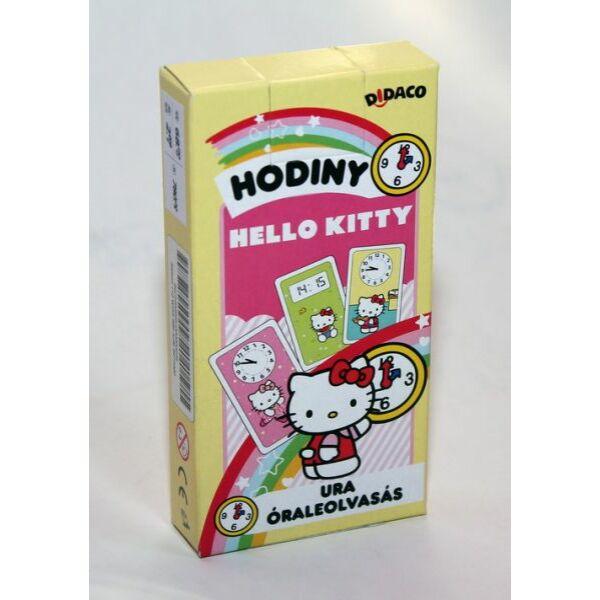 Hello Kitty - Óraleolvasás kártya játék - Egyszerbolt Társasjáték Webáruház