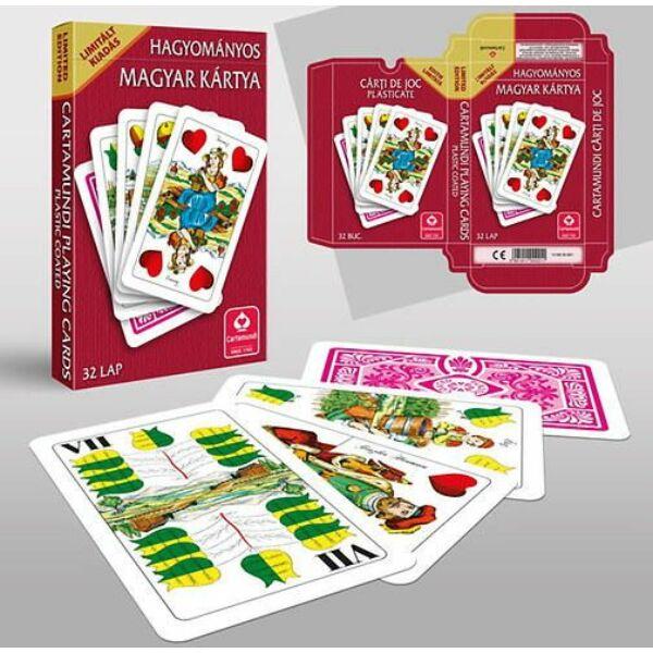 Magyar kártya hagyományos, limitált kiadás - Egyszerbolt Társasjáték Webáruház