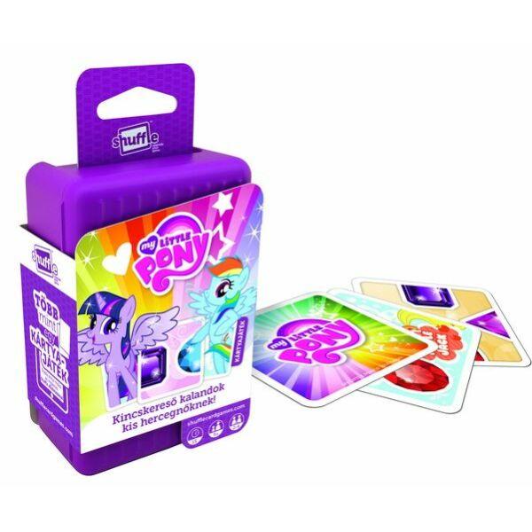 Shuffle - My Little Pony Kincskereső kalandok- kártyajáték - Egyszerbolt Társasjáték Webáruház