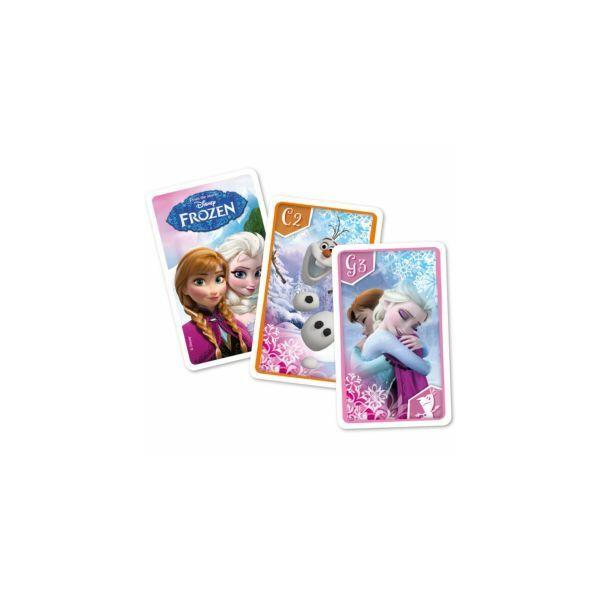 Frozen - Jégvarázs kvartett kártyajáték - Egyszerbolt Társasjáték Webáruház