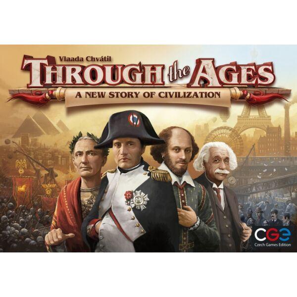 Through the Ages: A New Story of Civilization (2015-ös kiadás) - Egyszerbolt Társasjáték Webáruház