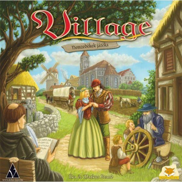 Village - Nemzedékek játéka - Egyszerbolt Társasjáték Webáruház