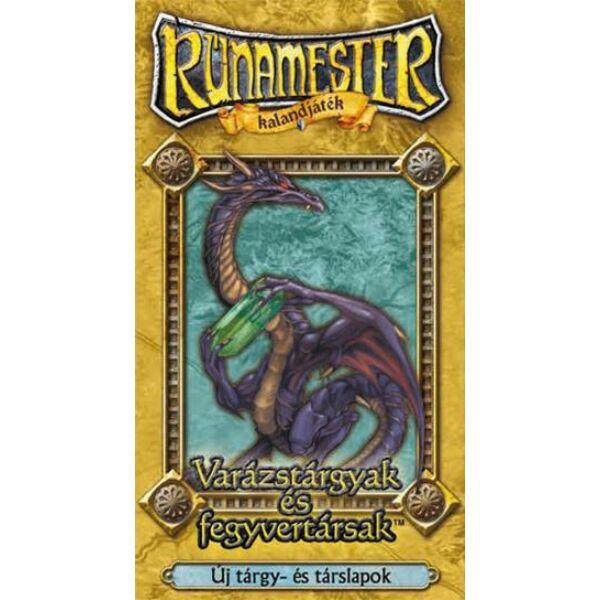 Rúnamester - Varázstárgyak és fegyvertársak kiegészítő - Egyszerbolt Társasjáték Webáruház