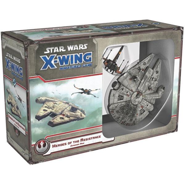 Star Wars X-Wing: Az Ellenállás hősei kiegészítő - Egyszerbolt Társasjáték Webáruház