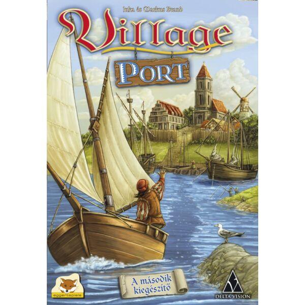 Village: Nemzedékek játéka - Village Port kiegészítő - Egyszerbolt Társasjáték Webáruház