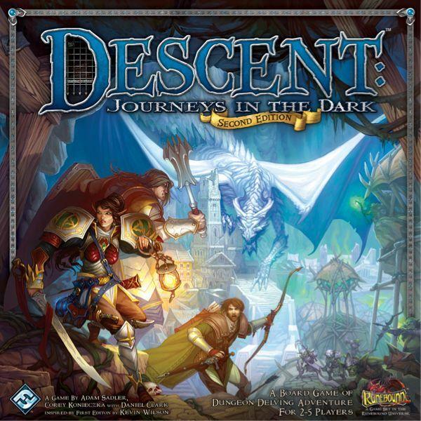 Descent: Journeys in the Dark 2nd edition - Egyszerbolt Társasjáték Webáruház