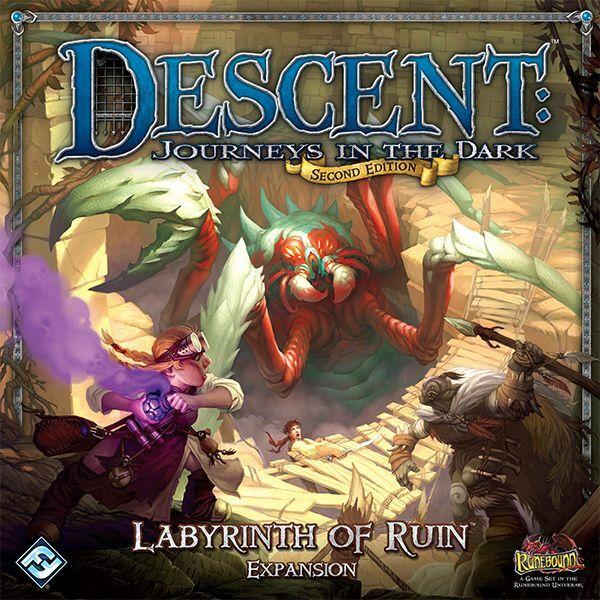 Descent 2nd edition - Labyrinth of Ruin kiegészítő - Egyszerbolt Társasjáték Webáruház