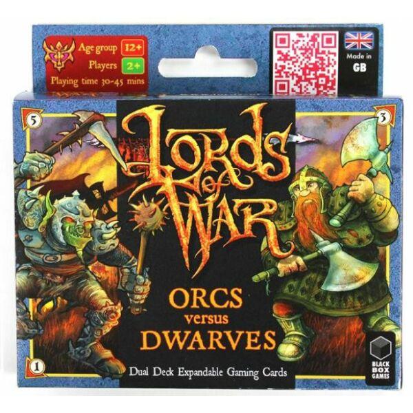Lords of War: Orcs VS Dwarves - Egyszerbolt Társasjáték Webáruház