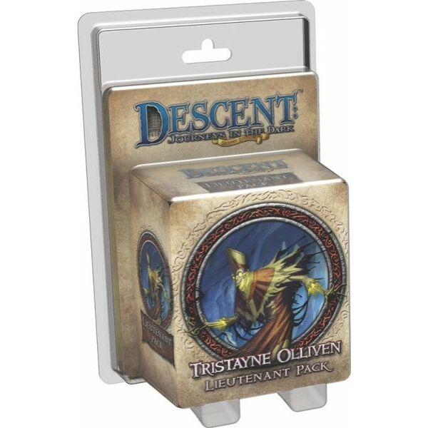 Descent: Journeys in the Dark (2nd edition) - Tristayne Olliven Lieutenant kiegészítő - Egyszerbolt Társasjáték Webáruház