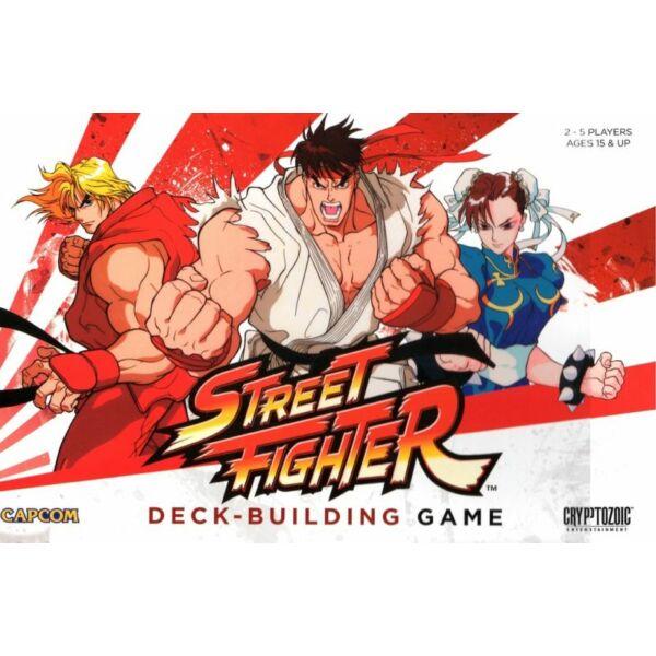 CapCom Street Fighter Deck-Building Game - Egyszerbolt Társasjáték Webáruház
