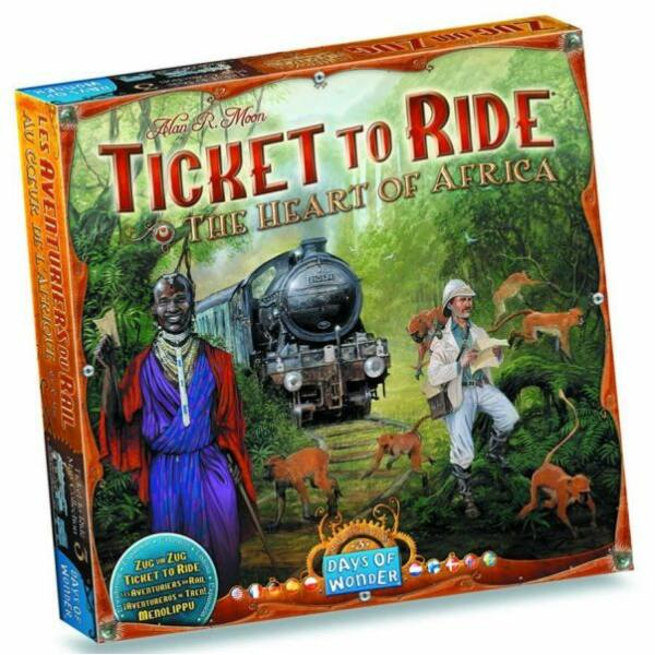 Ticket to Ride Map Collection 3: The Heart of Africa - Egyszerbolt Társasjáték Webáruház