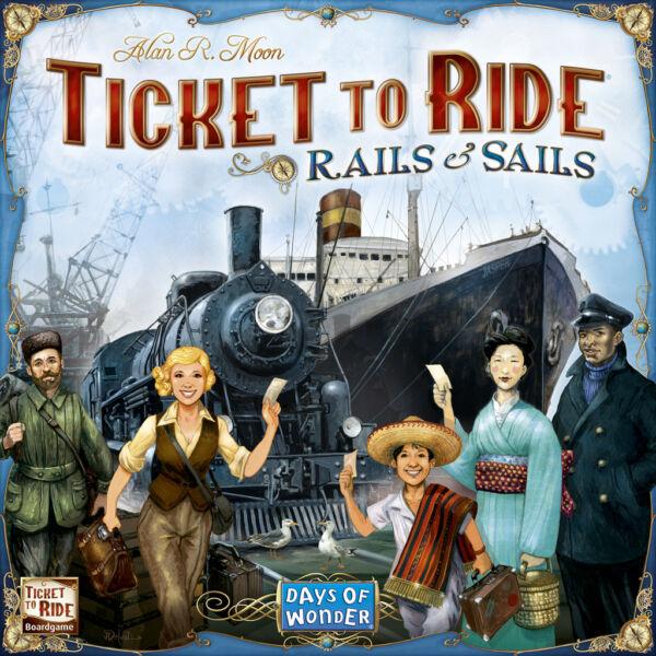 Ticket to Ride: Rails and Sails - Egyszerbolt Társasjáték Webáruház