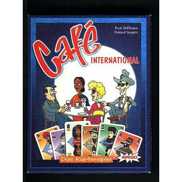 Café International kártya - stratégiai játék 10 éves kortól- Egyszerbolt Társasjáték Webáruház