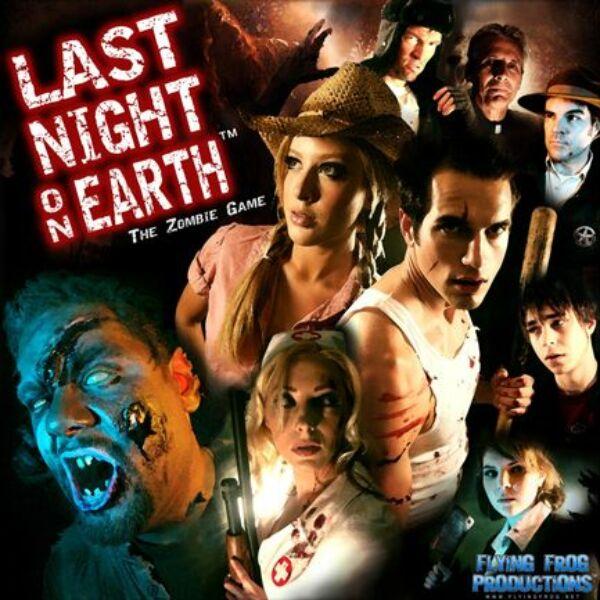 Last night on Earth - the Zombie Game - Egyszerbolt Társasjáték Webáruház