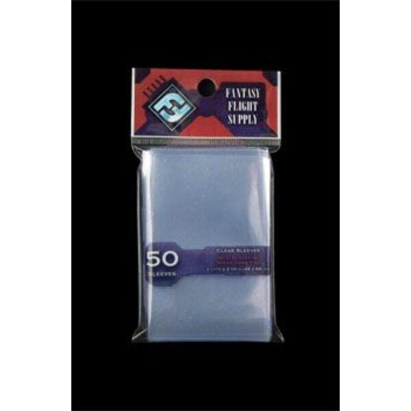 FFG Mini EU card sleeves (kártyavédő fólia) - 44x68 - Egyszerbolt Társasjáték Webáruház