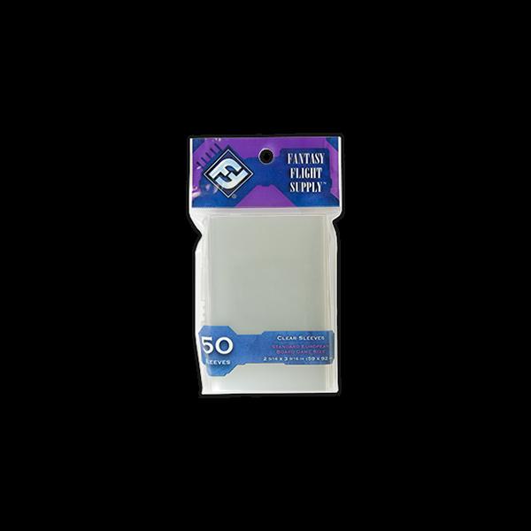 FFG Standard EU sleeves (kártyavédő fólia) - 59x92mm - Egyszerbolt Társasjáték Webáruház