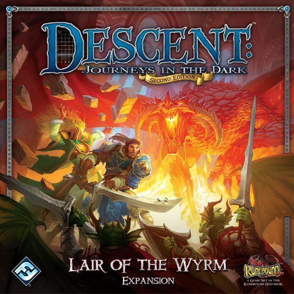 Descent 2nd Edition - Lair of the Wyrm kiegészítő - Egyszerbolt Társasjáték Webáruház