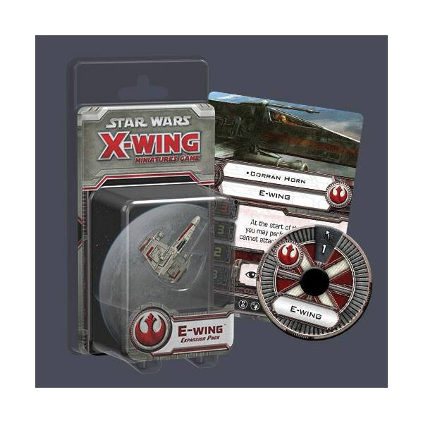 Star Wars X-Wing: E-Wing expansion pack - Egyszerbolt Társasjáték Webáruház