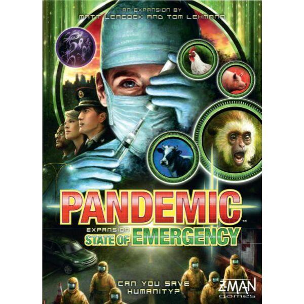 Pandemic: State of Emergency kiegészítő - Egyszerbolt Társasjáték Webáruház