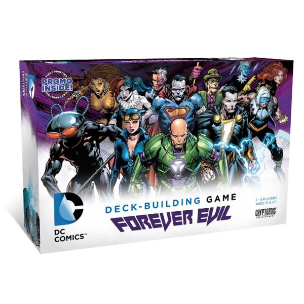 DC Comics Deck Building Game: Forever Evil - Egyszerbolt Társasjáték Webáruház