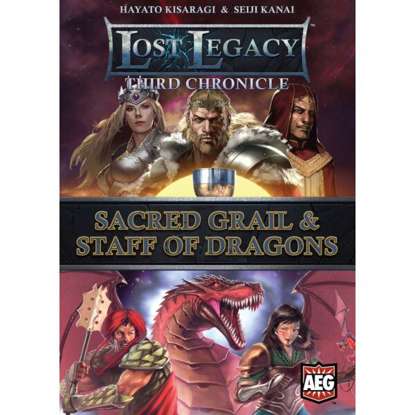 Lost Legacy: Third Chronicle - Sacred Grail & Staff of Dragons - Egyszerbolt Társasjáték Webáruház
