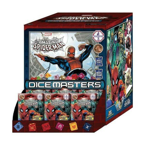Marvel Dice Masters: The Amazing Spider-Man Booster Pack - Egyszerbolt Társasjáték Webáruház
