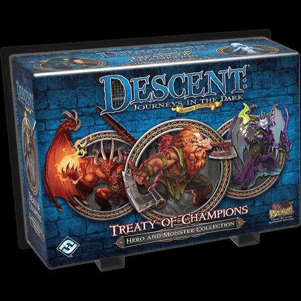 Descent: Journeys in the Dark (2nd edition) - Treaty of Champions kiegészítő - Egyszerbolt Társasjáték Webáruház