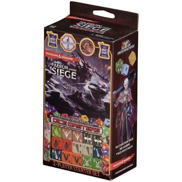 Dungeons & Dragons Dice Masters: Faerun Under Siege Starter Set - Egyszerbolt Társasjáték Webáruház