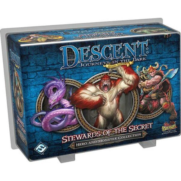 Descent 2nd Edition - Stewards of the Secret kiegészítő - Egyszerbolt Társasjáték Webáruház