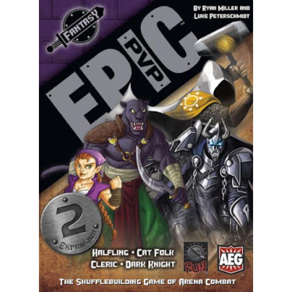 Epic PVP: Fantasy - Cat Folk/Halfling/Cleric/Dark Knight kiegészítő - Egyszerbolt Társasjáték Webáruház