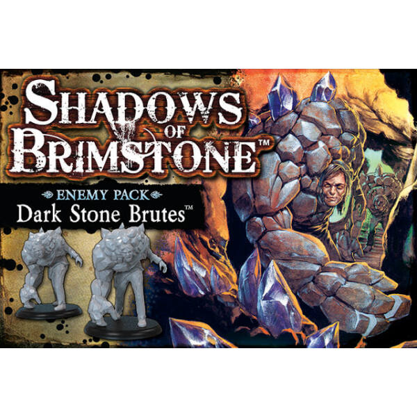 Shadows of Brimstone: Dark Stone Brutes Enemy Pack kiegészítő - Egyszerbolt Társasjáték Webáruház