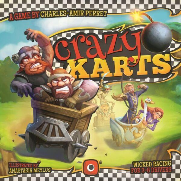 Crazy Karts - Egyszerbolt Társasjáték Webáruház